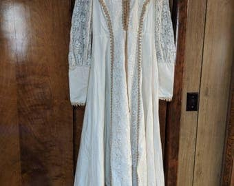 Vintage Jessica McClintock Gunne Sax Renaissance, Boho style dress