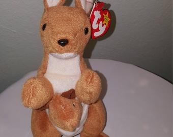 TY Beanie POUCH the Kangaroo