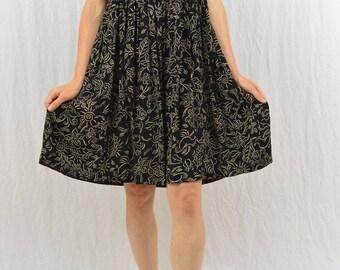 Vintage Babydoll Mini Dress, Size Medium, Grunge, Butterflies, Birds, Grunge, 90's Clothing, My So Called Life, Cute Dress, Liz Claiborne