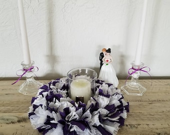 Unity Candle Ceremony, Wedding Candle Ceremony, Wedding Unity Ceremony, Wedding Unity Candle Set, Violet Wedding, Wedding Candle Centerpiece