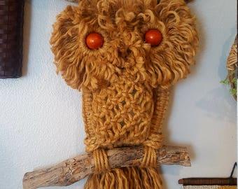 Macrame Owl Etsy