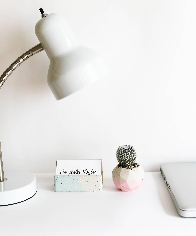 business card holder robins egg blue