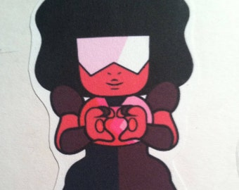 Garnet Sticker