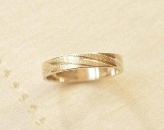 Designer Engraved Sterling SILVER 925 Men Women Wedding Ring Size 9.75, Silver Band Ring