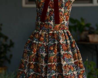 Everything Fall Retro Collar Dress