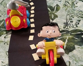 1994 Bobby's World/ Bobby's World Tricycle/ Vintage Happy Meals Toy/ 3 Wheeler Spaceship/Vintage 90's