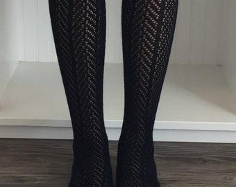 Sale Lace Boot Sock, Boot Socks, Womens Lace Boot Socks, Lace Boot Socks, Lace Socks, Boot Toppers, Lace Leg Warmers, Lace Cuffs, Sock Boot
