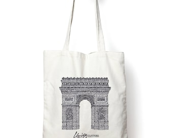 Architecture Totebag, Arc De Triomphe, Paris, France