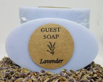 Lavender Guest Soap - Lavender Lover Soaps - Mini Soaps - Lavender Soap Favors - Shower Favors - Wedding Favors - Shower Favor Soaps