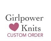 Custom for Josh, Hand Knit Hat size XL, Peruvian Wool, Charcoal Gray