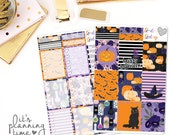 Halloween Full Boxes- Decorative and Checklist Planner Stickers