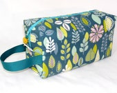 Retro Leaves Project Bag