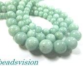 6/8/10 mm jade Amazonitfarben beads 1 strand Round