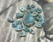 Larimar Stone and Chips