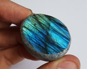 Labradorite Dragons Egg - Unusual Polished Crystal Half Egg 3.5cm