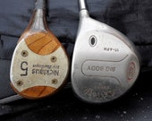 Vintage Golf Drivers Nicklaus No 5 Golden Bear and Big Body