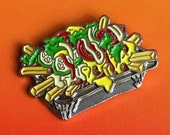 KAPSALON soft enamel fast food pin
