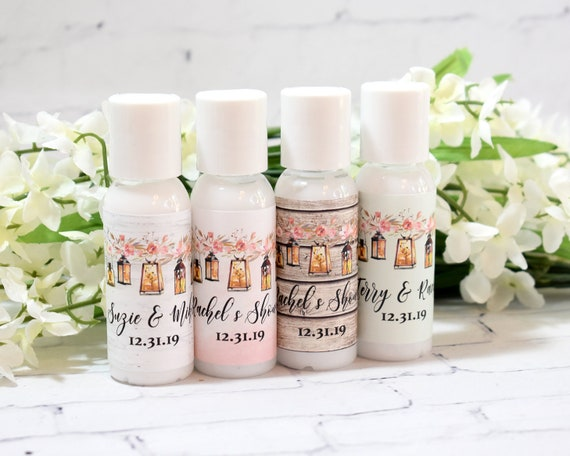 Personalized Baby Shower Favors Cosmetic Favors Vintage Hand
