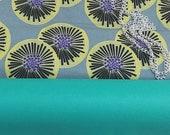 Sac pochette en wax, simili cuir turquoise, sac à bandoulière chaine, pochette ethnique, pochette de soirée, sac cérémonie
