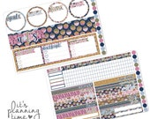 Fall Breeze September Circle Style Notes Page Planner Sticker Kit