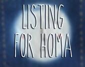 Homa - custom listing