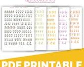 Tree of Life Alphas Bible Journaling Digital Download Printable