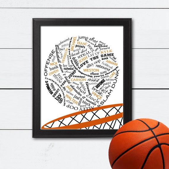 basketball coach gift basketball coach basketball team gift