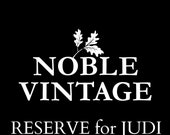 RESERVE listing for Judi