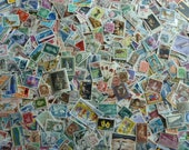 1000 Stamps -  Gigantic Lot of 1,000 Worldwide Stamps for Decoupage, Paper Crafts, Collage and More...