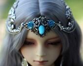 Aqua/Teal Unicorn Crown Size 9-10