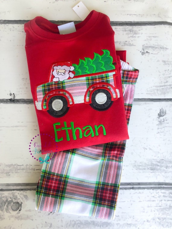 il_570xn - Girls Christmas Nightgowns
