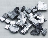 ONE Bag of Silvery Galena crystals, Missouri  - Mineral for Sale
