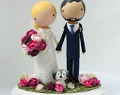 custom wedding cake topper - order for - KELLE