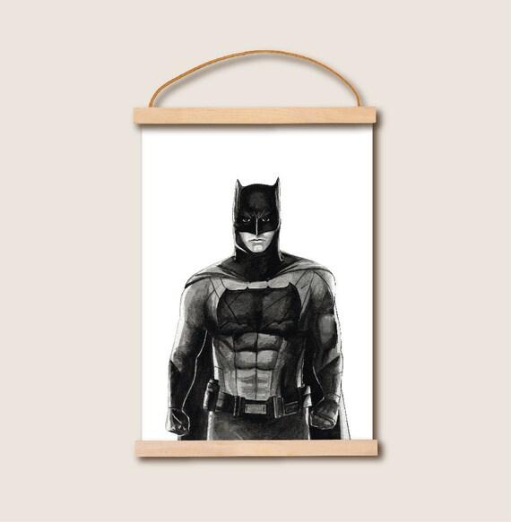 Batman Movie Poster Wall Art. A3 size. Movie Prints Poster. Movie ...