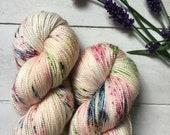Enchanted Garden - Silky Twist - Merino/Silk (80/20) sockweight