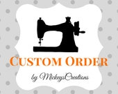 Custom Order - Personalized Baby Quilt - Arizona Fabrics by Art Gallery