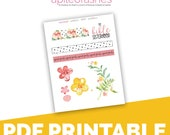 The Bible Sisterhood Extras Bible Journaling Digital Download Printable