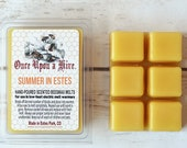 Summer in Estes Beeswax Melts   3 oz.   Natural   Melt-Warmers   Wax Melts   Scented   Signature Scent