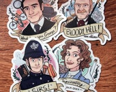 Murdoch Mysteries Stickers