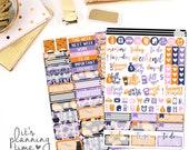 Halloween 2 Page Planner Sticker Kit