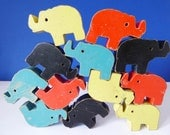 Jumbling Jumbo stacking elephant toy Abbatt toys England 1950s