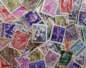 Italian Colors -  100 Stamps from Italy for Art Projects, Collage, Card Making, Jewelry, Decoupage, etc.