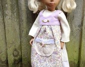 NEW Pretty Summer APRON for Sasha doll / designer doll clothing by Verity Hope