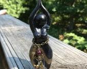 OOAK: Huntress Goddess Sculpture (figurine)