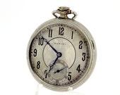 14K Goldfilled Dudley Freemason Themed Movement Pocket Watch 19 Jewel
