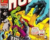 The Incredible Hulk #140 (1st Series 1962-1999) June 1971  Marvel Comics  Grade VF