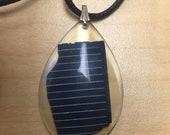 Solar Panel Necklace