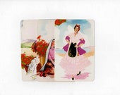3 Vintage Mexico Unused Postcards Blank - Unique Travel Wedding Guest Book, Reception Decor, Travel Journal Supplies