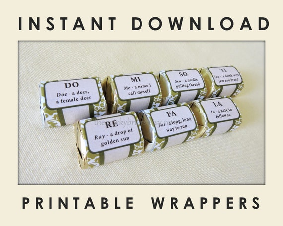 Sound of Music Inspired, Greenery, Olive Green Damask, Chocolate ...