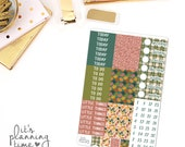 Thankful Add-On Headers, Pattern Headers, and Date Cover Planner Stickers